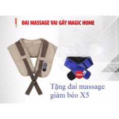 Đai massage vai gáy Magic Home