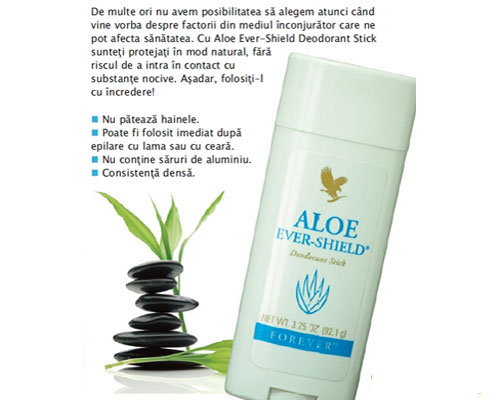 Sáp Khử Mùi Aloe Ever-Shield  MS 067
