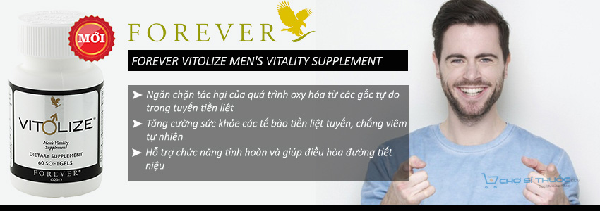 Forever Victolize Men's Vitality Supplement MS374